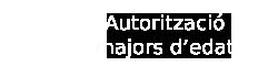 Autoritzacio majors