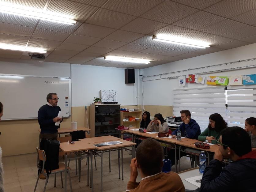 Manel Rodríguez, President de l' Associació de Veïns/es Clot i Confluències
